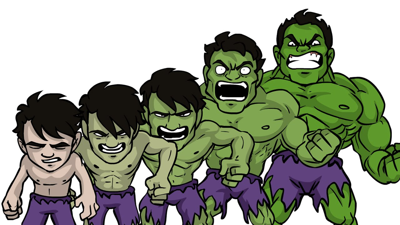 Animate hulk Transformation Flash Animation Tutorial