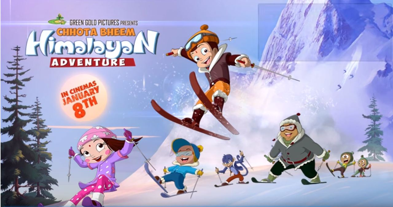 Chhota Bheem Himalayan Adventure Movie Official Trailer