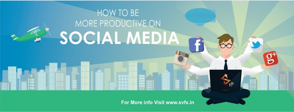 How To Be More Productiove on social Media - svfx animation studio01