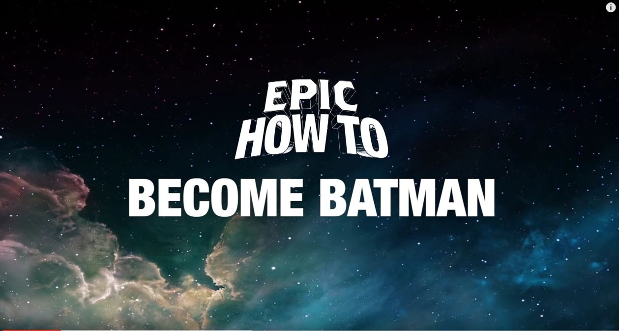 How to Become Batman