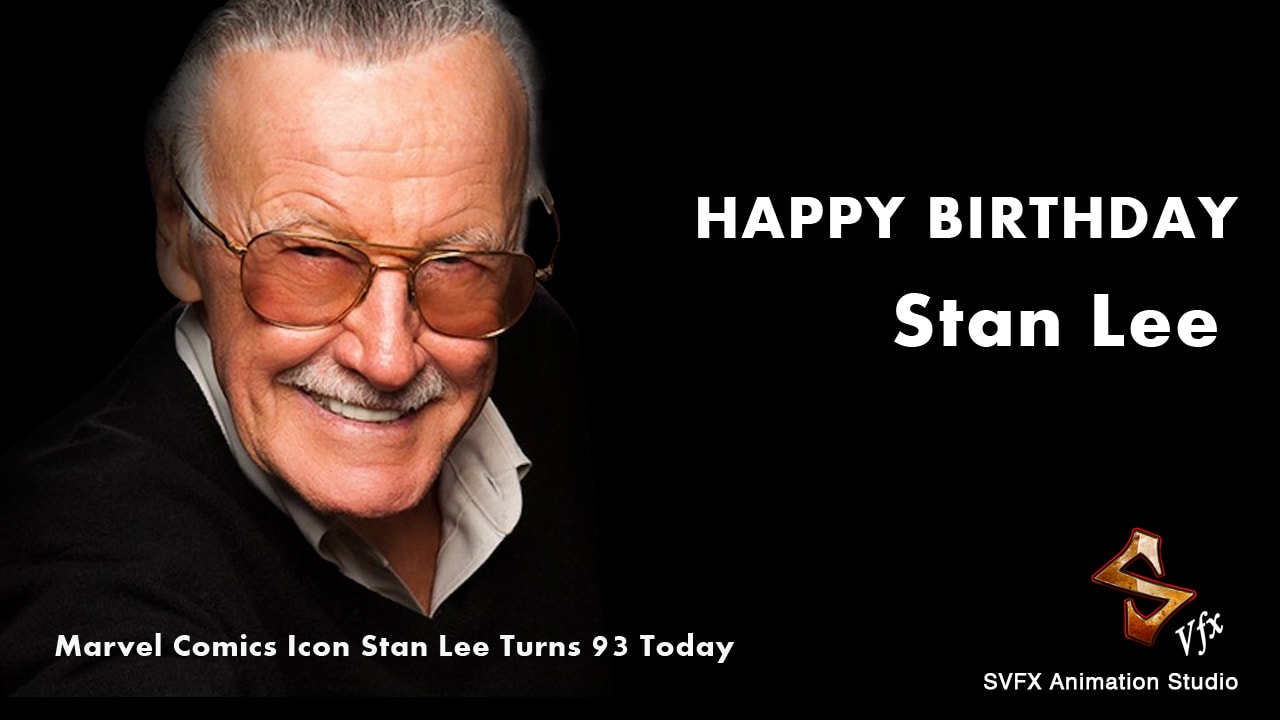 Marvel Comic icon Stan Lee turns 93 today
