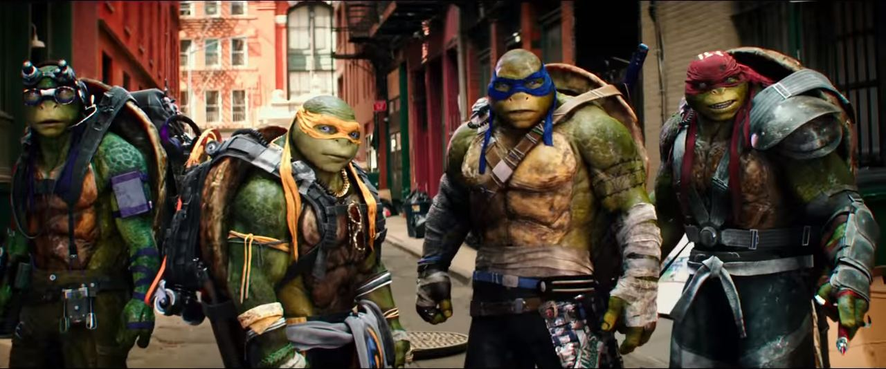 Teenage Mutant Ninja Turtles 2 2016