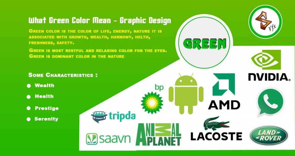 What Green Colors Mean Logo Design Animation Studios In