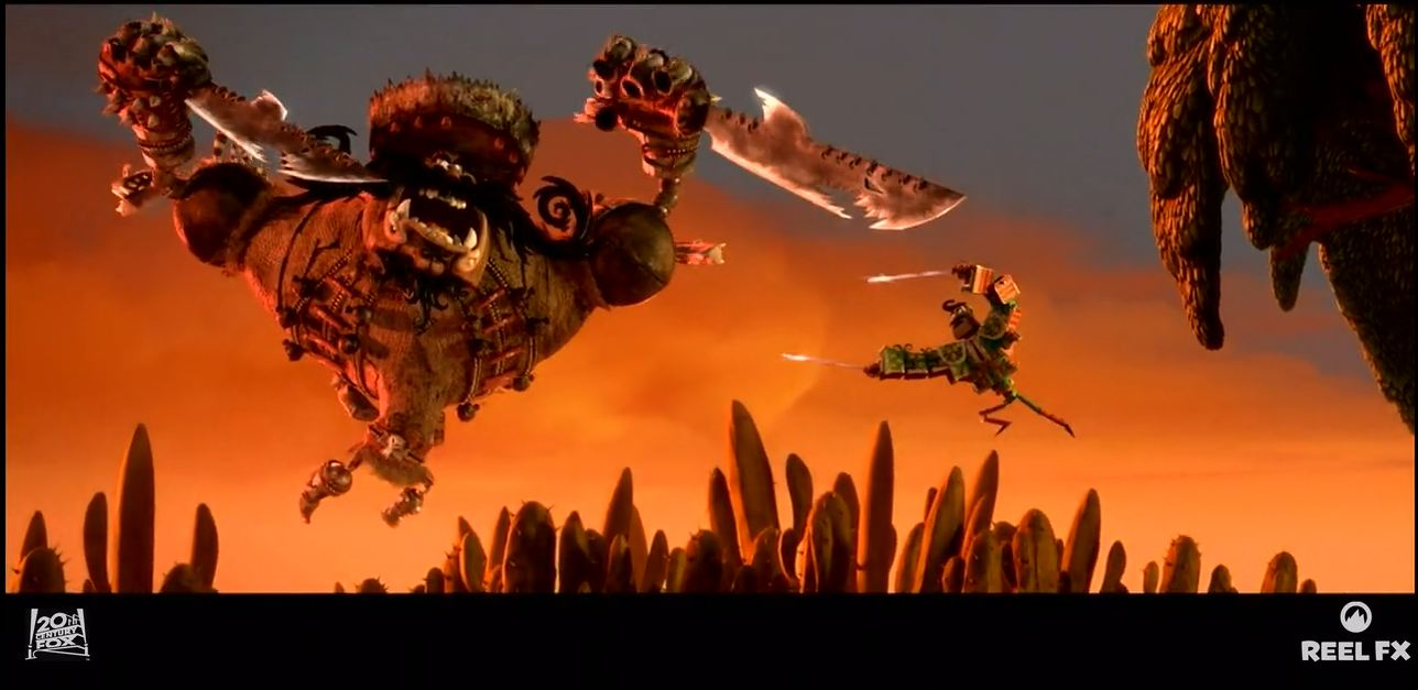 The Foundry's 2015 Visual effects (vfx) showreel