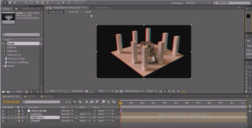3D Stereo Tutorial