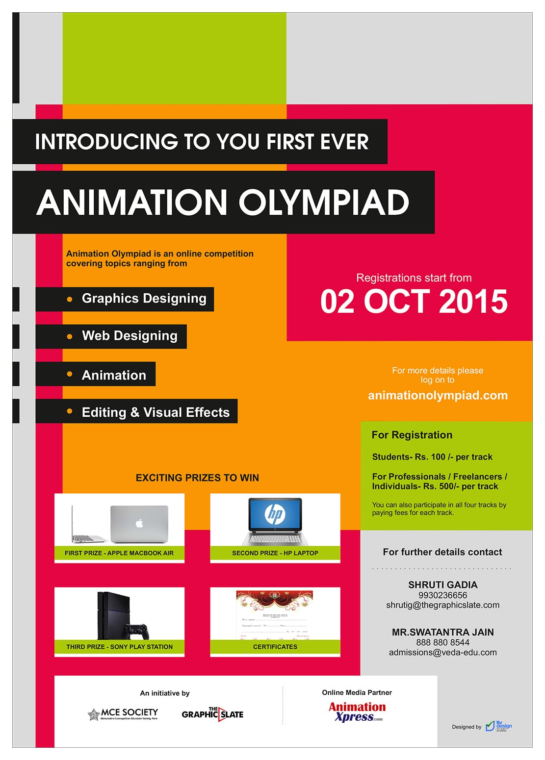 Animation Olympiad Competition 2015