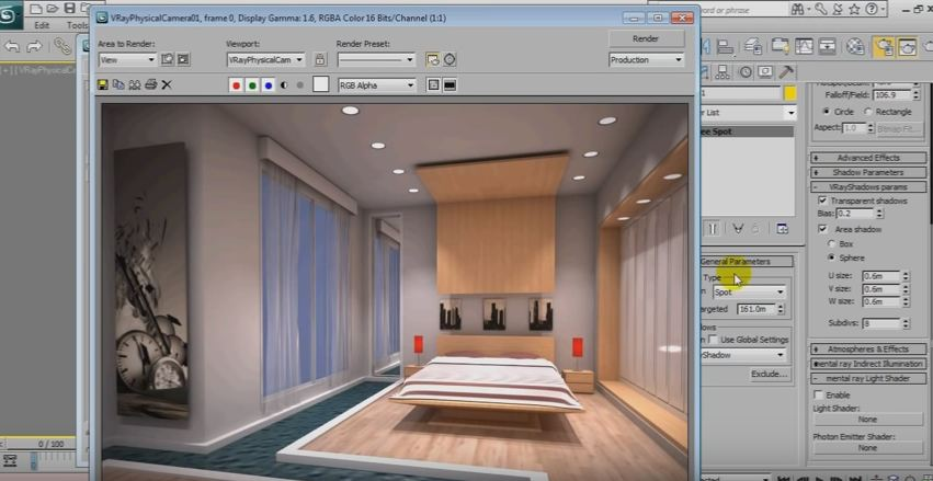 Architecture Tutorial 3D Max Vray Rendering | Animation