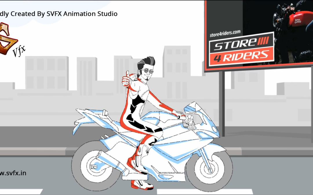 Best Animated Video Maker SVFX Animation Studio pune india