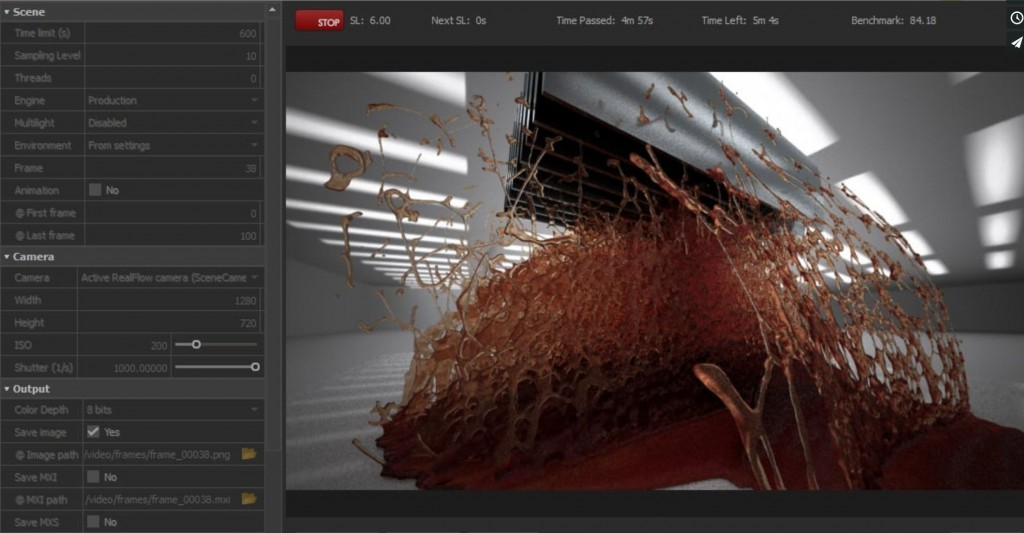 SVFX Animation studio Tuts RealFlow 2015 Maxwell Render
