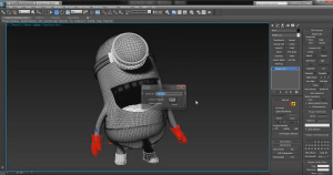 Speed Modeling The Minion from Despicable Me