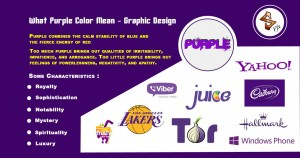 What Purple Color Mean Graphic Design