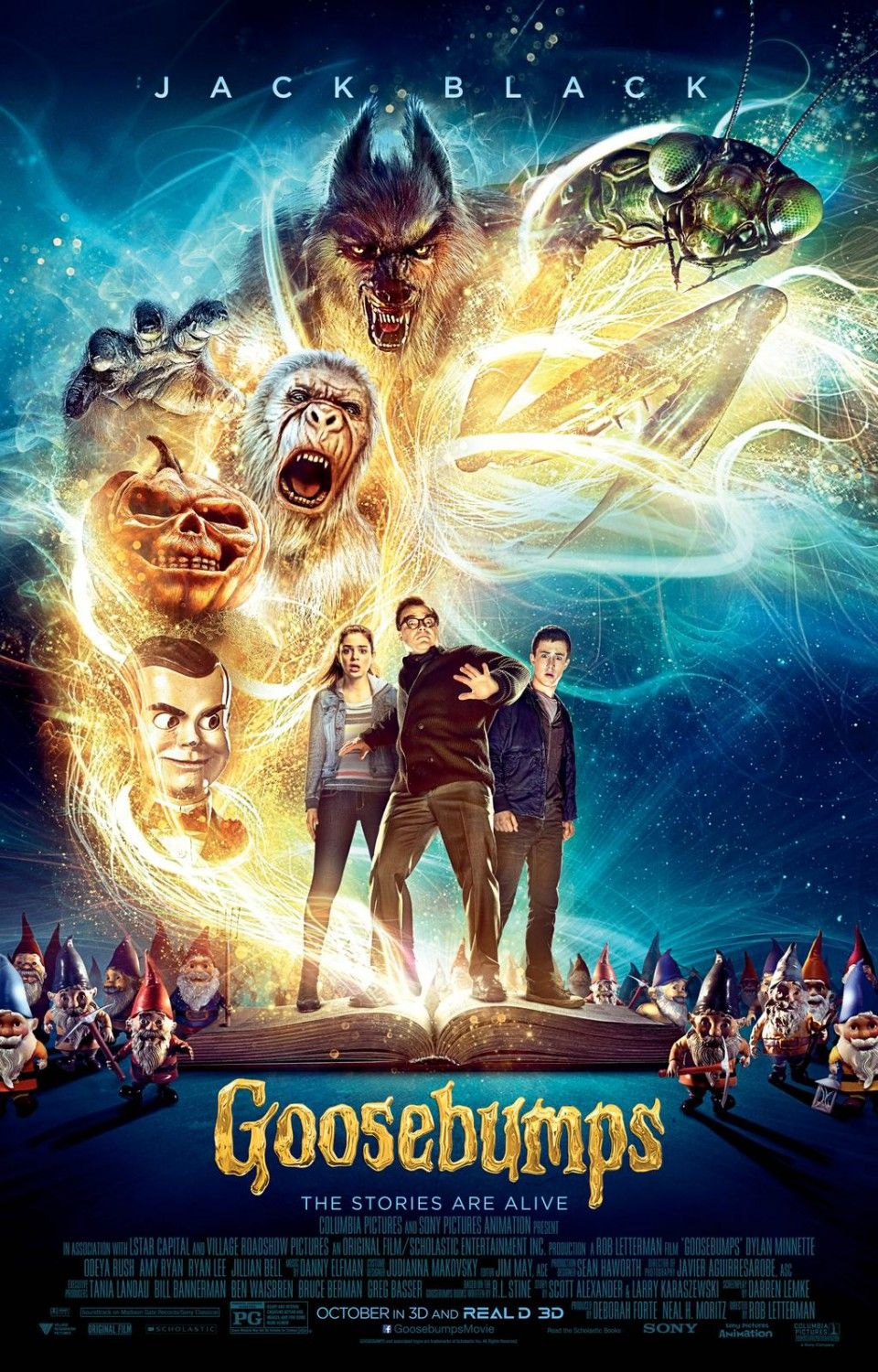 GOOSEBUMPS First Look International Trailer
