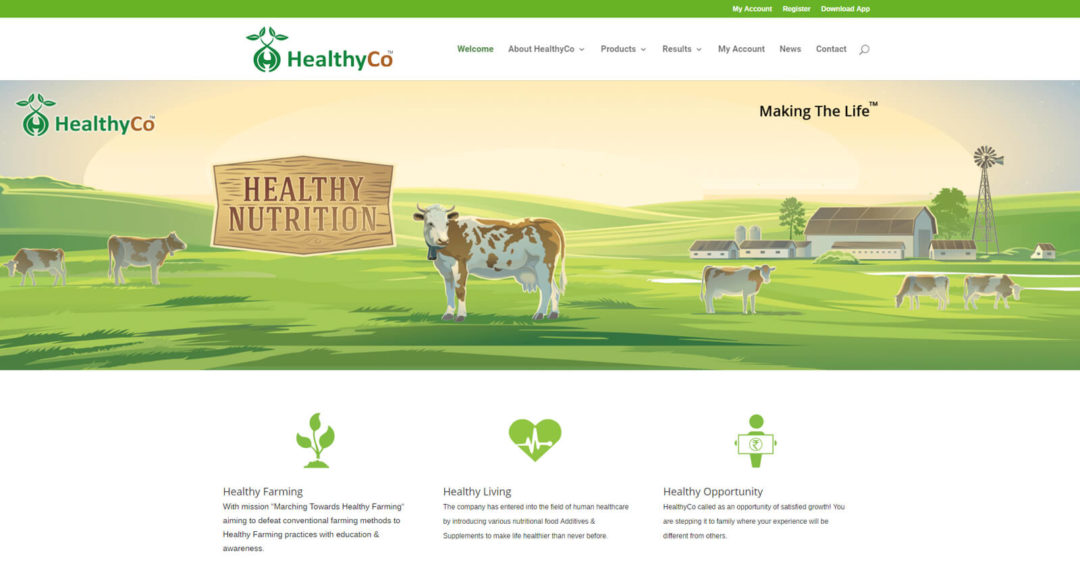 Agricultural-Technology-farming-product-website-development