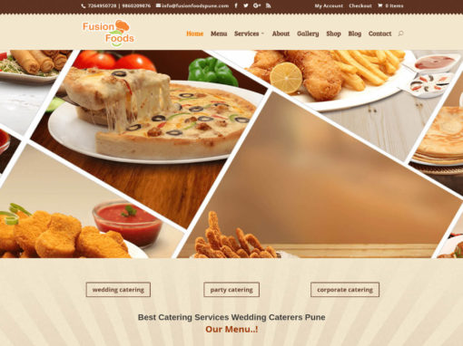 Food Ordering, Catering Business E Commerce Web Design And Development in Pune By SVFX Animation Studio
