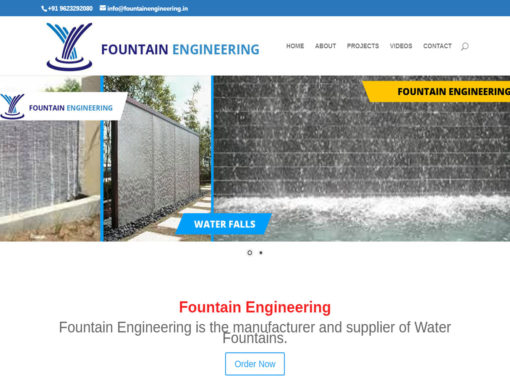 Web Design And Development Project Fountain Engeering