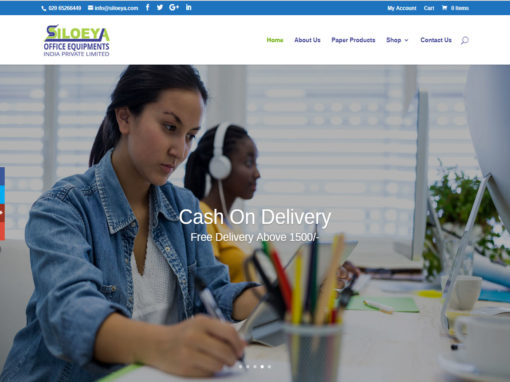 Web Design And Development Project Siloeya