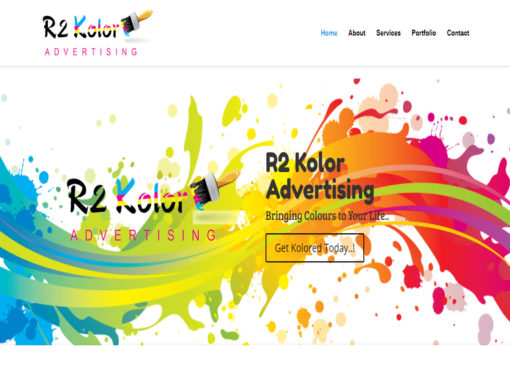 Web Design And Development Project R2color Advertising