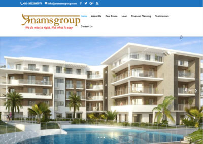 Web Design And Development Project Pranams Group