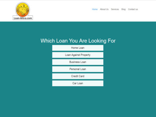 Web Design And Development Project Loan-Mitra
