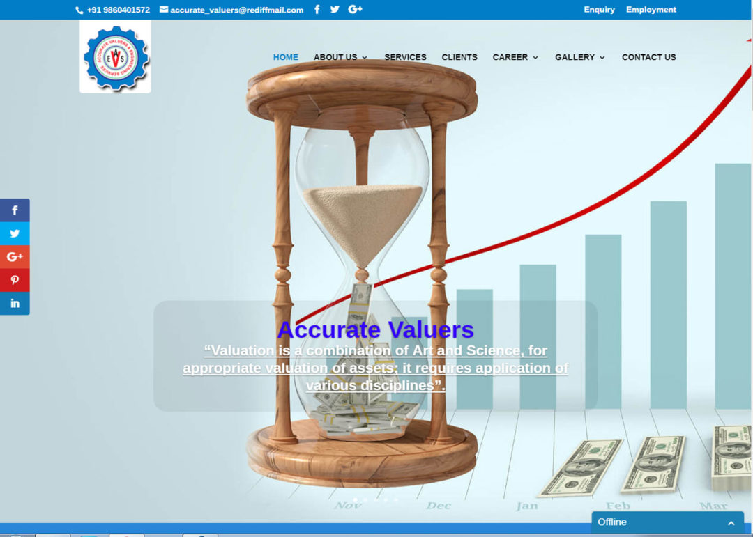 Web Design And Development Project Accurate Valuers