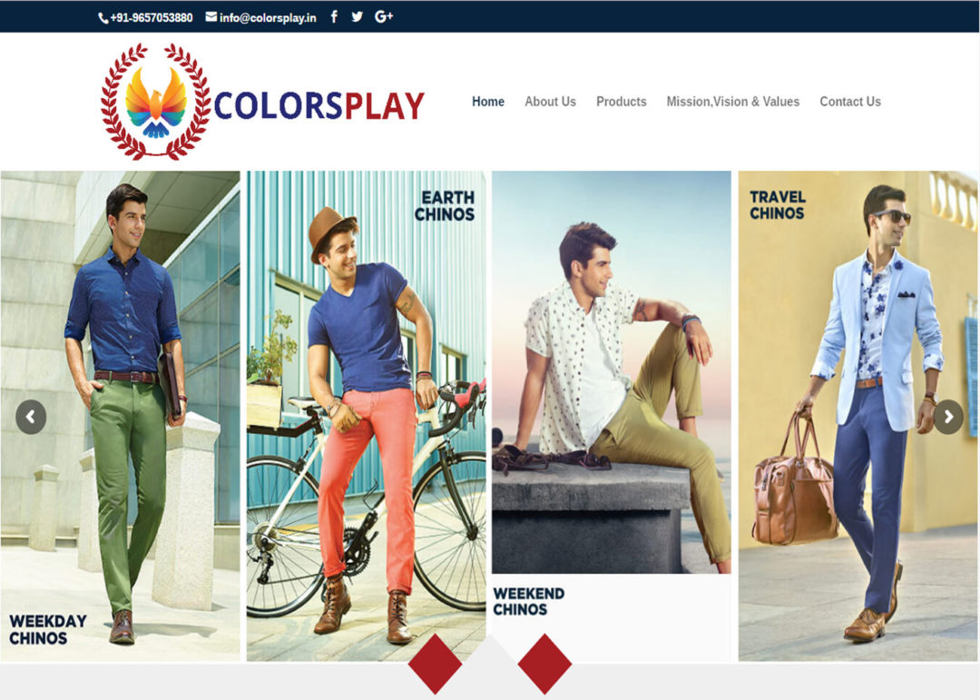 Web Design And Development Project Colorsplay