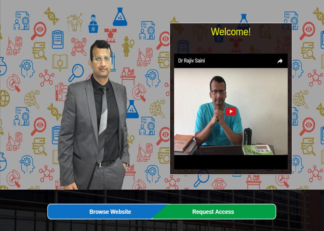Web Design And Development Project Dr. Rajiv Saini