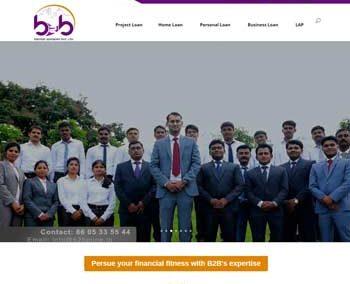 Web Design And Development project b2b Finvest Advisory Pvt.Itd