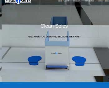 Web Design And Development project Clean Soles