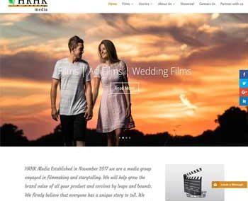 Web Design And Development project hrhkmedia