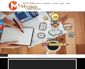 Web Design And Development Project MyntraMedia