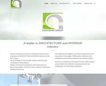 Web Design And Development Project Ecovision