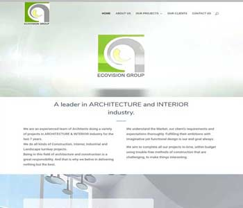 Web Design And Development Project Ecovision